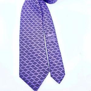 Hermes Accessories - Lucious Lavender Hermes Tie